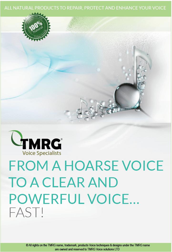 TMRG Catalog and Vocal Tips